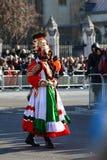 De dagparade van nieuwjaren in Londen. Royalty-vrije Stock Afbeeldingen