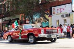 De Dagparade 2018 van de Pilsen Mexicaanse Onafhankelijkheid royalty-vrije stock foto