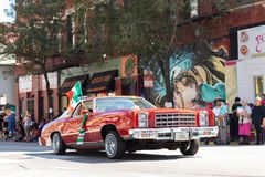 De Dagparade 2018 van de Pilsen Mexicaanse Onafhankelijkheid stock foto's