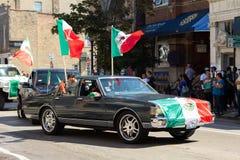 De Dagparade 2018 van de Pilsen Mexicaanse Onafhankelijkheid stock afbeeldingen
