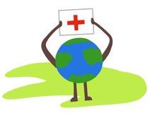De dagsymbool van het wereld rode kruis royalty-vrije stock afbeeldingen