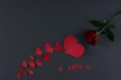 De Dagthema van Valentine ` s Royalty-vrije Stock Foto's