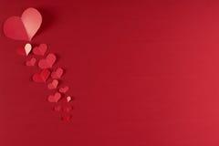 De Dagthema van Valentine ` s Royalty-vrije Stock Afbeeldingen