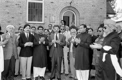 23 de dagviering van de republiek van Maart Pakistans in Denemarken Royalty-vrije Stock Foto