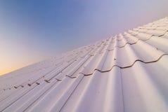 De dak-tegel stock afbeeldingen