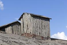 de dakbouw stock afbeelding