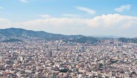 De daken van Barcelona Royalty-vrije Stock Foto