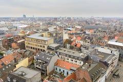 De daken van Gent Royalty-vrije Stock Afbeeldingen