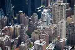 De Daken van Manhattan Stock Afbeeldingen