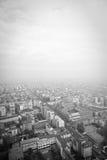 De daken van Milaan stock foto's