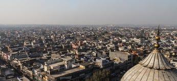 De Daken van New Delhi Stock Foto's