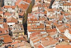 De daken van Nizza Royalty-vrije Stock Fotografie