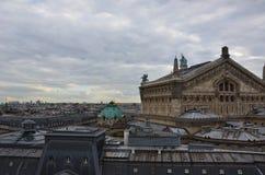 De daken van Parijs Stock Afbeelding
