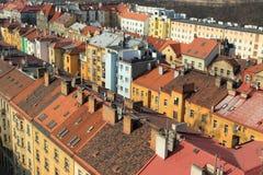 De daken van Praag Royalty-vrije Stock Fotografie