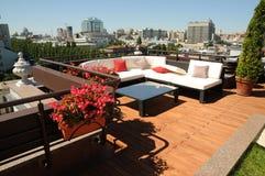 De daken van TerraceKyiv Stock Fotografie
