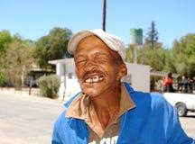 De dakloze Bosjesman van Kalahari Royalty-vrije Stock Afbeeldingen