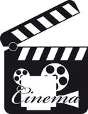 De Dakspaan van de film Royalty-vrije Stock Afbeelding