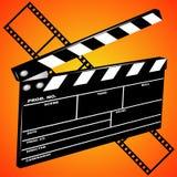 De dakspaan van de film Stock Foto's