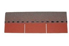 De dakspaan van het dakwerk Stock Afbeelding
