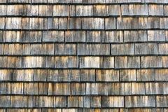 De dakspaan verouderde houten achtergrond copyspace Doorstane schokken, aardige gekleurde textuur stock afbeeldingen