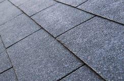 De dakspanen van het dak Stock Afbeelding