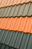 De dakspanen van het dakwerk royalty-vrije stock afbeelding