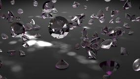 De dalende diamanten vector illustratie