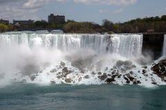 De Daling en de mist van Niagara Royalty-vrije Stock Fotografie
