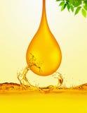De Daling van de olie Stock Fotografie