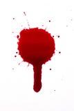 De daling van het bloed stock foto's