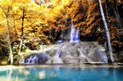 De daling van het paradijswater Stock Afbeeldingen