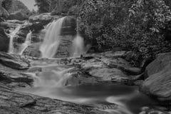 De daling van het Turgawater, Purulia, West-Bengalen - India stock fotografie