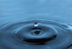 De daling van het water Stock Afbeeldingen