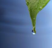 De daling van het water royalty-vrije stock afbeeldingen