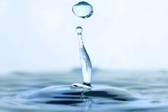 De daling van het water royalty-vrije stock afbeelding