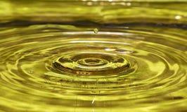 De daling van het water op lucht Royalty-vrije Stock Foto