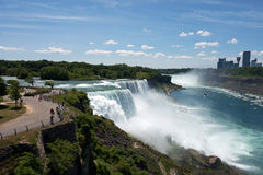 De daling van Niagara Stock Afbeelding