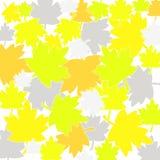 De daling verlaat patroon vector illustratie