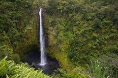 De Dalingen Hawaï van Akakaka Stock Afbeelding