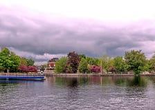 De Dalingen Mei 2008 van Smiths van het Rideaukanaal royalty-vrije stock foto's