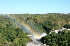 De Dalingen NP, Oeganda, Afrika van Murchison royalty-vrije stock fotografie