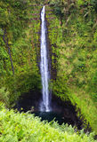 De Dalingen van Akaka, Groot Eiland, Hawaï Stock Afbeeldingen