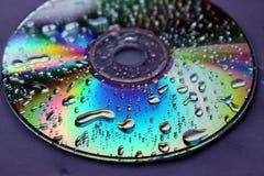 De dalingen van CD royalty-vrije stock foto's