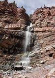 De Dalingen van de cascade van Ouray, Colorado Stock Fotografie