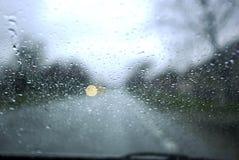 De dalingen van de regen Stock Foto's