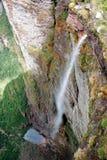 De Dalingen van de rook (Cachoeira DA Fumaça in het Portugees) Stock Fotografie