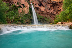 De Dalingen van Havasu, Arizona Stock Foto