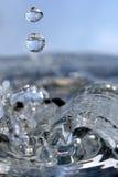 De dalingen van het kristal Royalty-vrije Stock Foto
