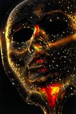 De dalingen van het masker