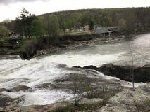 De dalingen van het Ohiopylewater Stock Foto's